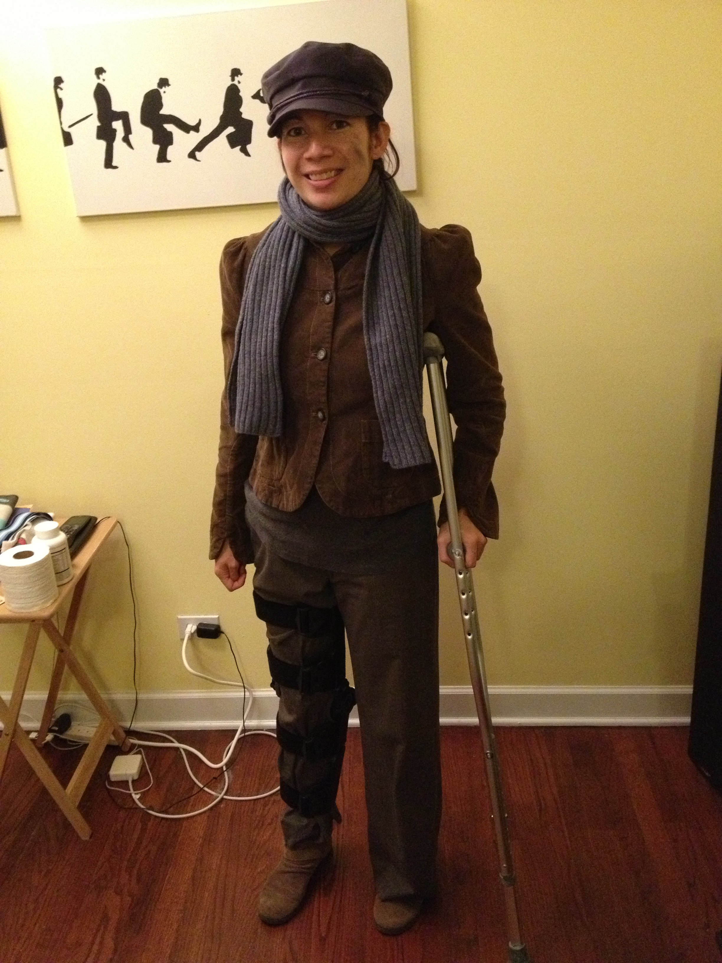 2012  sc 1 st  Ponytail Up : halloween costumes with crutches  - Germanpascual.Com