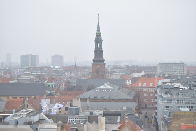 skyline view of Copenhagen