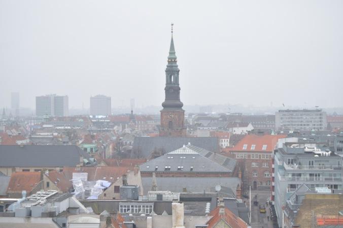 skyline view of Copenhagen