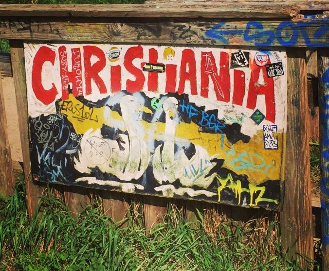 Christiania street art