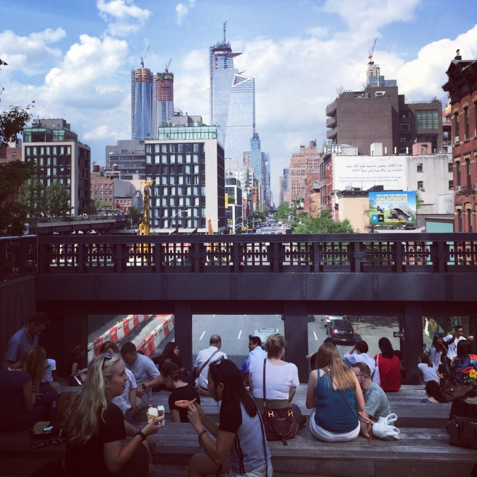High Line Trail, New York