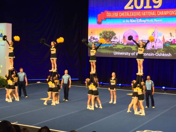 2019 College Cheerleading Championships